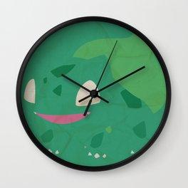 Bulbasaur Wall Clock