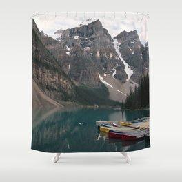 Lake Moraine Shower Curtain