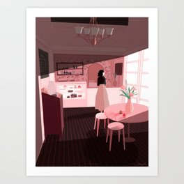 patisserie Art Print