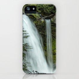 Sahalie Falls No. 4 iPhone Case