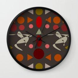 zappwaits dance Wall Clock