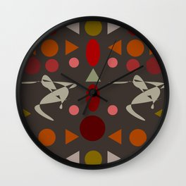 zappwaits dance Wall Clock