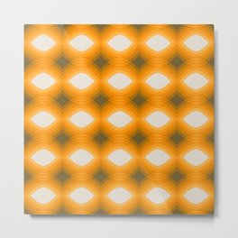Maize Stack Pattern Metal Print
