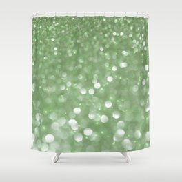 Holiday Mint Shower Curtain