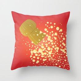 Flying Cork Throw Pillow