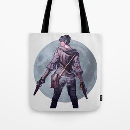 Moon girl Tote Bag