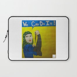 Muslim Rosie the Riveter Laptop Sleeve
