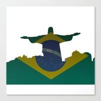 brazil Canvas Prints featuring Brazil by Jimbob1979