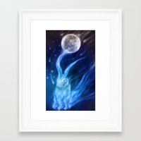returns Framed Art Prints featuring Bluebell Returns by ShadowPaw Pictures
