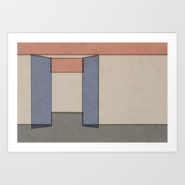 Empty Room no.02 - Lonely Spaces Art Print