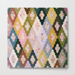 #04#Fabric in pieces pattern Metal Print