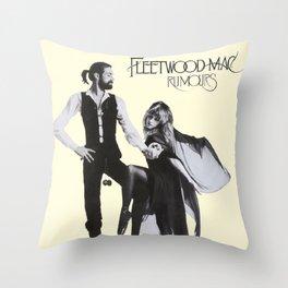 Fleet-wood Mac Rumours Poster Throw Pillow