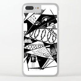 Ain't Safe Clear iPhone Case