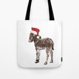 Christmas Baby Donkey Tote Bag