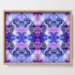 Space Fae: kaleidoscope edition Serving Tray