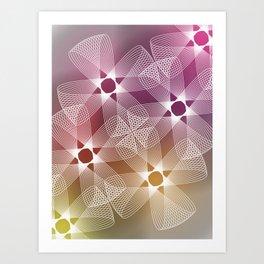 Ah Um Design #016b Art Print