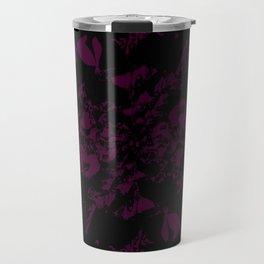 Dark Marble Travel Mug