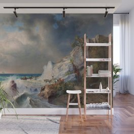 View between Genoa and Nice by Apollinary Goravsky Wall Mural