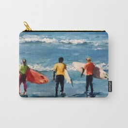 Crown City Surf Kids Carry-All Pouch