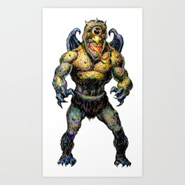 The Darkslayer - Eep the Imp Art Print