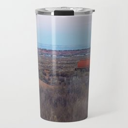 Pastel Sunsets in the Desert, Plus Truck Travel Mug