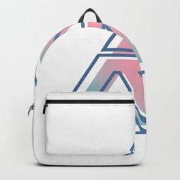 Geometric Trinagle Backpack
