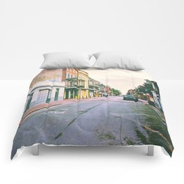 To Miss New Orleans Comforters