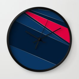 Abstract geometric pattern Wall Clock