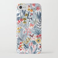 iPhone Cases featuring Flowers by Mouni Feddag