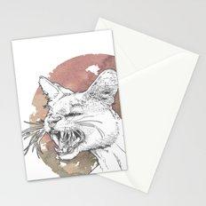 Bastet Unrequited Stationery Cards