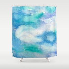 Feelin Blue Shower Curtain