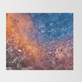 Vibrant Acrylic Texture Throw Blanket