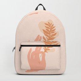 Abstraction_NAMASTE_LOVE_Minimalism_001 Backpack