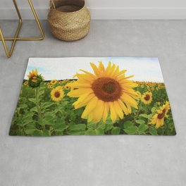 Sunflower 9 Rug
