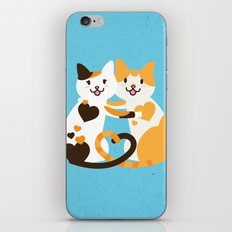Lovecats iPhone & iPod Skin