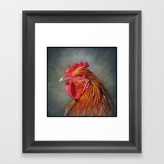 They call me Red..... Framed Art Print
