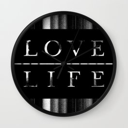 love life Wall Clock