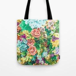 Vintage Garden #digital #nature Tote Bag
