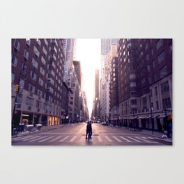 Sunset Avenues Canvas Print