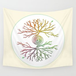 Tree of Life in Balance Wall Tapestry