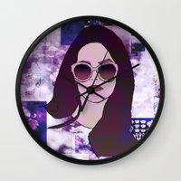 lana Wall Clocks featuring LANA by Share_Shop