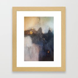 Let It Hold Your Hand Framed Art Print