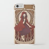 subaru iPhone & iPod Cases featuring Little Red Riding Hood by Subaru