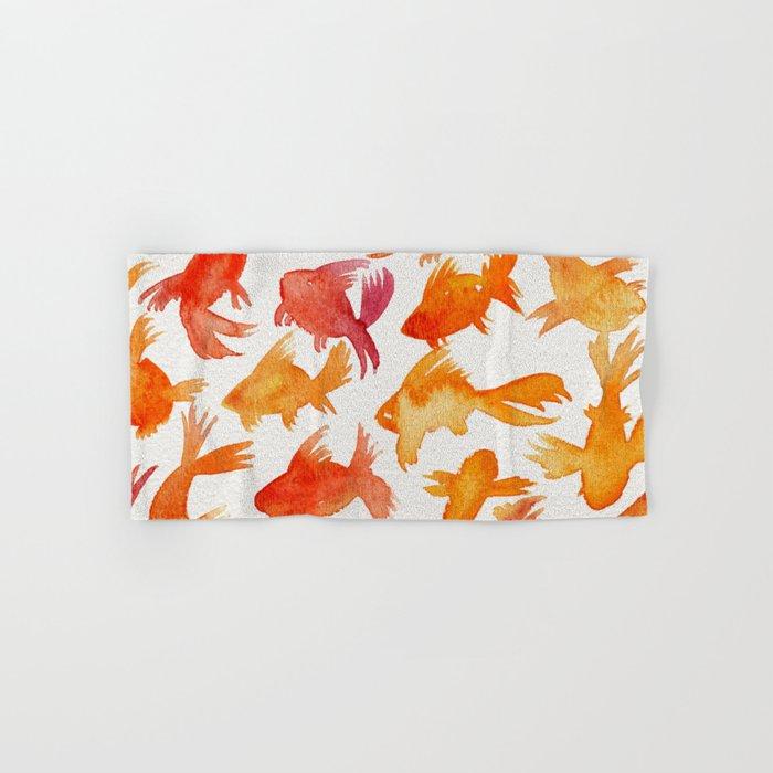 Goldfish Hand & Bath Towel