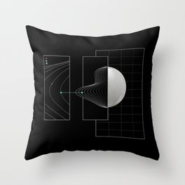 Keep on track Throw Pillow