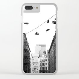 crosby street Clear iPhone Case