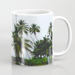 Basketball on Isla Bastimento, Bocas del Toro, Panama Coffee Mug