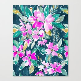 SUP DAWG Dogwood Floral Canvas Print