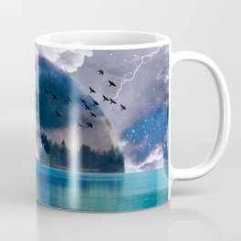 Reflecting(From A Higher Place) Coffee Mug