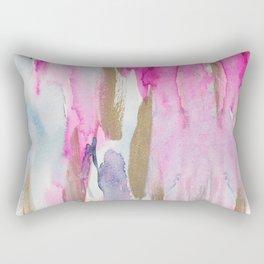 Colorful fluid colors Rectangular Pillow